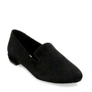 Steve Madden Black Suede Loafers Women's US Size 9
